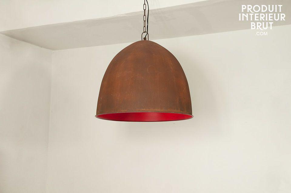 Raspberry Steel hanglamp