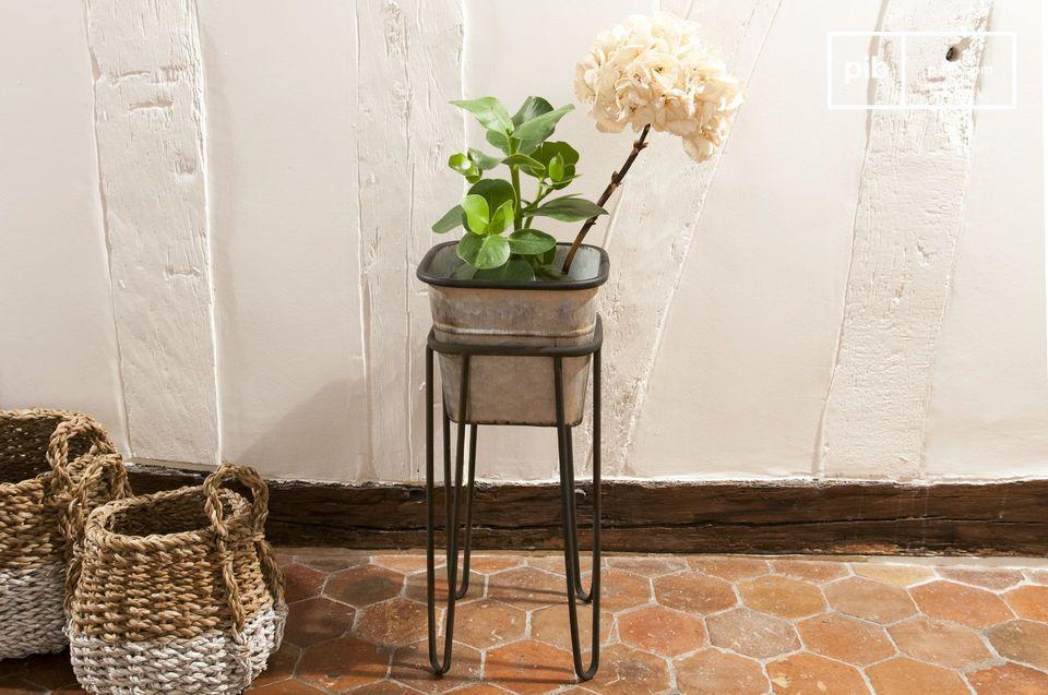 Elegante vintage planten standaard