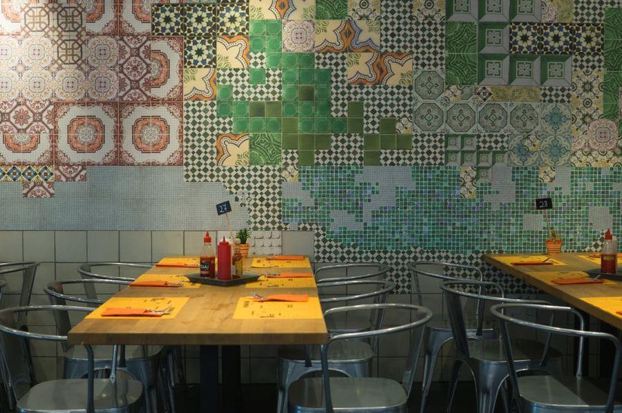 Restaurant industriele stoelen