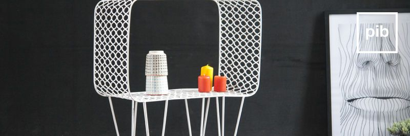 Retro salontafels in scandinavische stijl snel weer terug in de collective