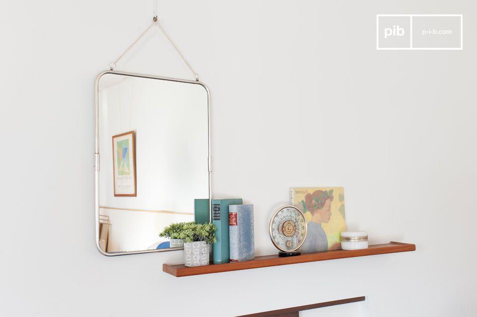 Antique-geïnspireerde spiegel om op te hangen