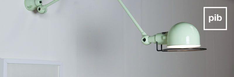 Retro wandlampen in Scandinavische stijl