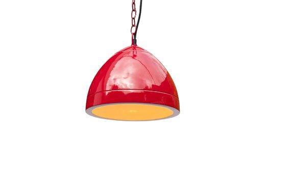 Rode Këpasta hanglamp Productfoto