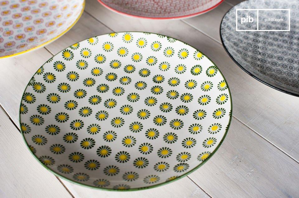 De ronde Julia borden voegen een retro karakter toe aan je eettafel