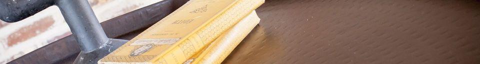 Benadrukte materialen Ronde salontafel Subolo