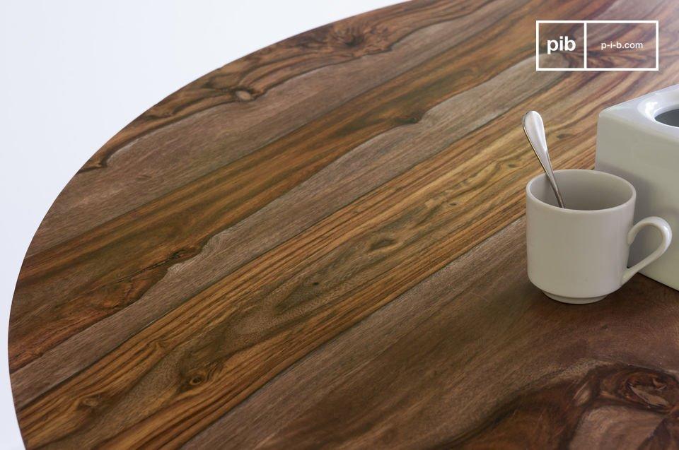 De ronde Starbase tafel is een gezellige, praktische en elegante tafel
