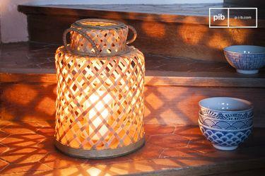 Saïgon bamboe lantaarn