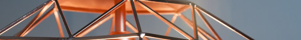 Benadrukte materialen Sancy hanglamp