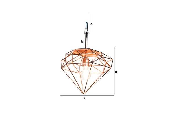 Productafmetingen Sancy hanglamp