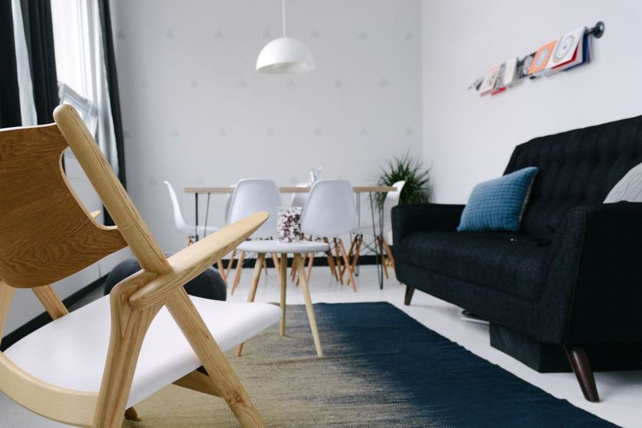 Scandinavisch design interieur