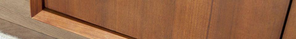 Benadrukte materialen Scandinavisch dressoir Jones