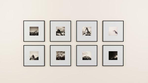 Scandinavisch geïnspireerde frames