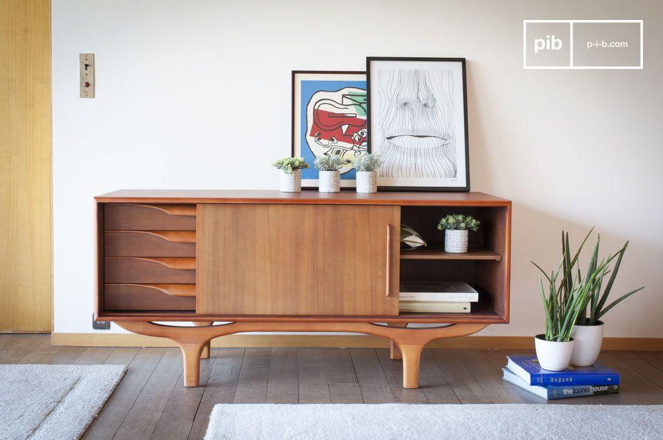 Een echte ode aan het Scandinavische design van de jaren 1950