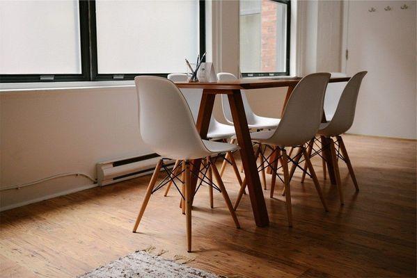 Scandinavische eettafel stoelen