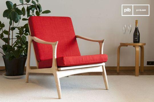 Scandinavische fauteuil Aarhus