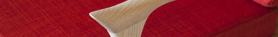 Benadrukte materialen Scandinavische fauteuil Aarhus