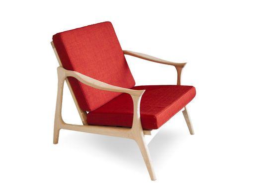 Scandinavische fauteuil Aarhus Productfoto
