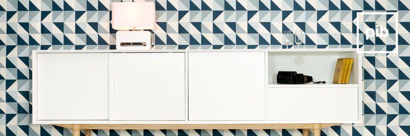 Scandinavische retro dressoirs en ladekasten