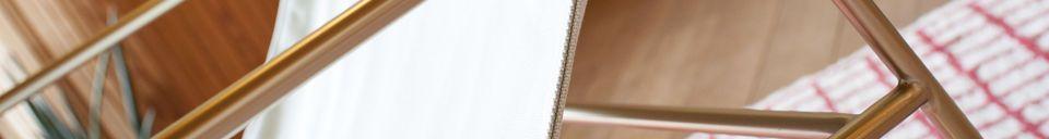 Benadrukte materialen Scandinavische schommelstoel Lund