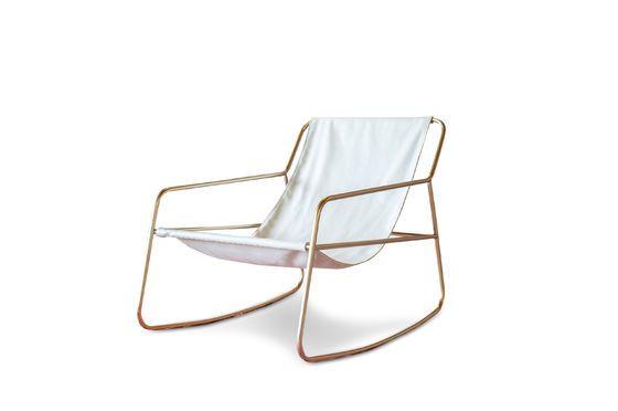 Scandinavische schommelstoel Lund Productfoto