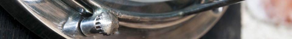 Benadrukte materialen Scheepvaart wandlamp Coursive