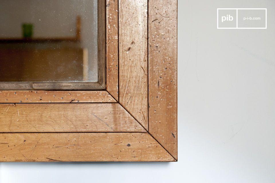 Een uitzonderlijk model, XXL, gemaakt van houten parketvloeren