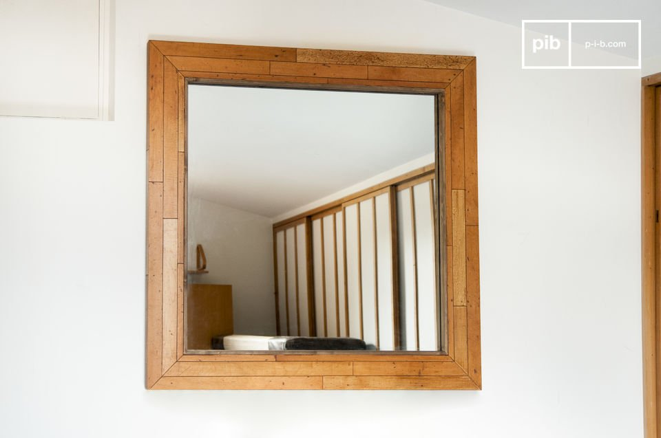 Sheffield houten spiegel een uitzonderlijk model xxl pib for Houten spiegel