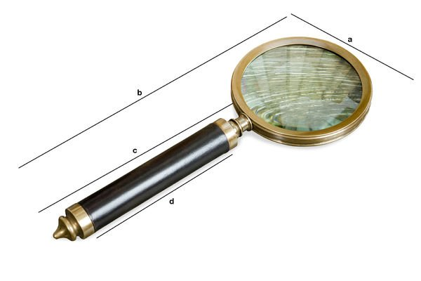 Productafmetingen Sherlock vergrootglas