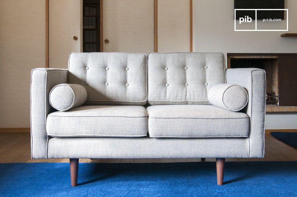 Geweldig comfort, Gehuld stof met een midden twintigste stijl