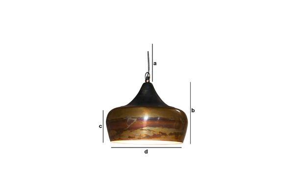Productafmetingen Skaal hanglamp