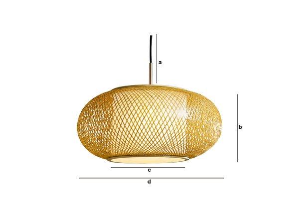 Productafmetingen Skib hanglamp