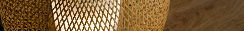 Benadrukte materialen Skib tafellamp