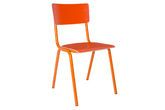 Skole stoel oranje