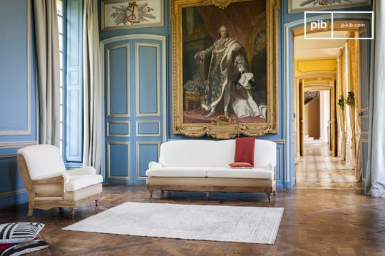 Sofa van stof Gustave