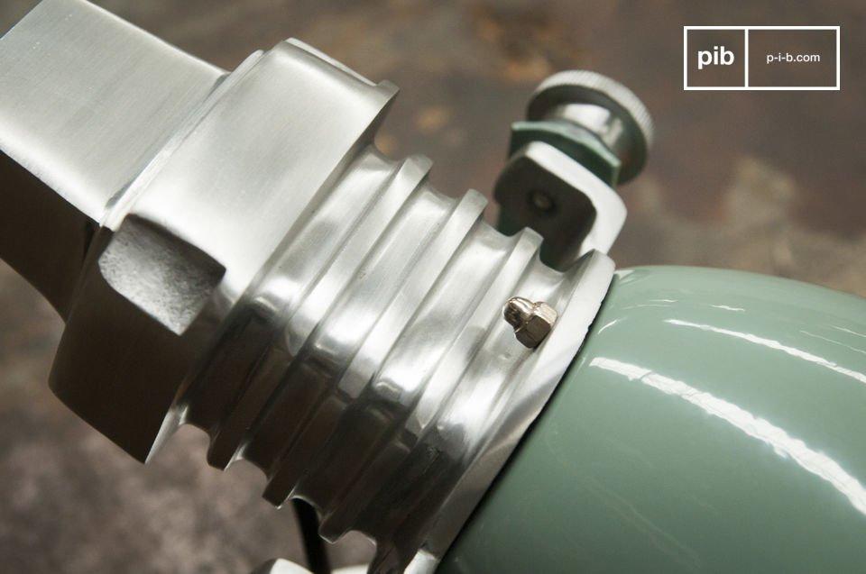 Industriële vintage wandlamp met een vleugje loft design