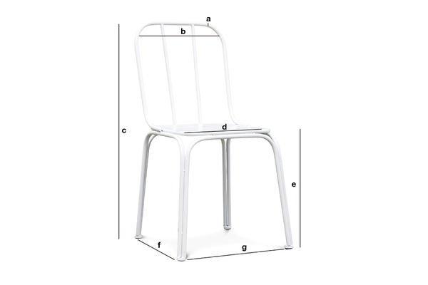 Productafmetingen Sollävik stoel