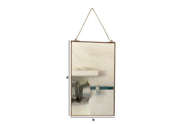 Productafmetingen Solliès-Pont spiegel