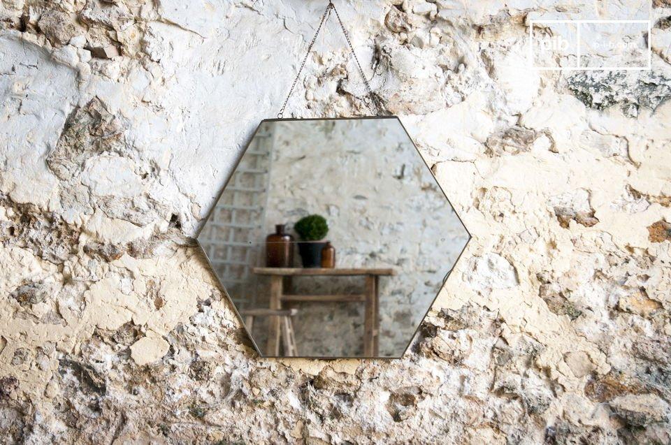 Een spiegel vol vintage design