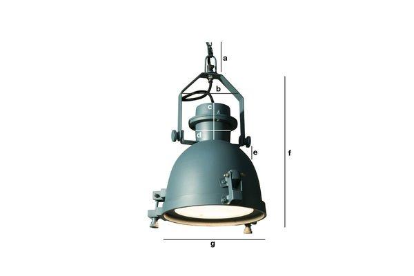 Productafmetingen Spitzmüller hanglamp