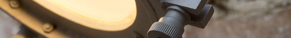 Benadrukte materialen Spitzmüller wandlamp