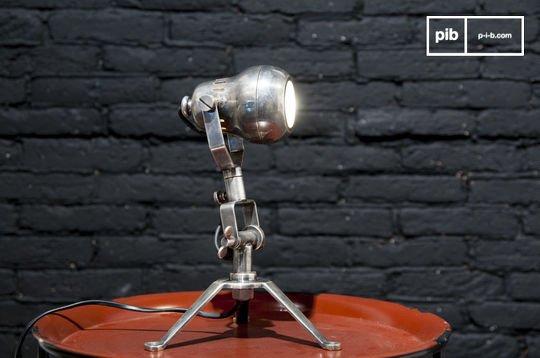 Spoutnik koperen lamp