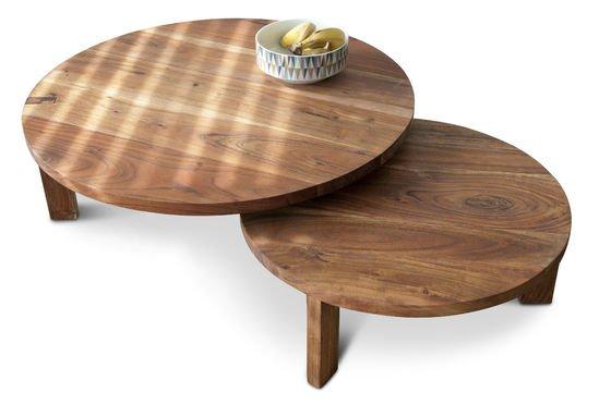 Stockholm salontafel met dubbel tafelblad Productfoto
