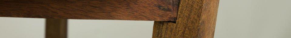 Benadrukte materialen Stockholm tafel met verwijderbaar tafelblad