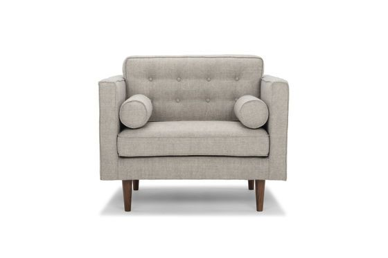 Stoffen fauteuil Silkeborg Productfoto