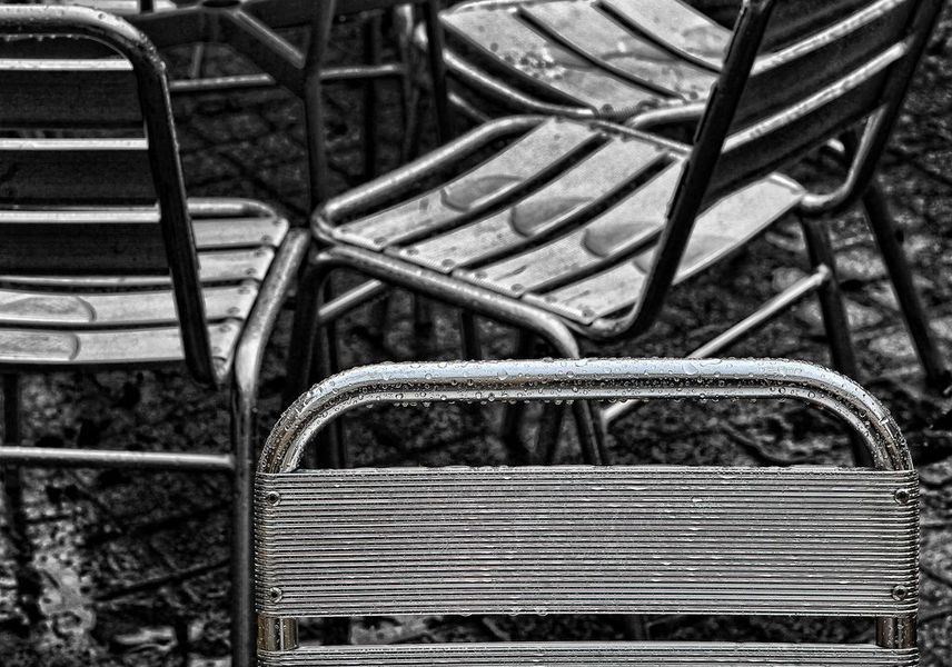 Strandstoel industrieel