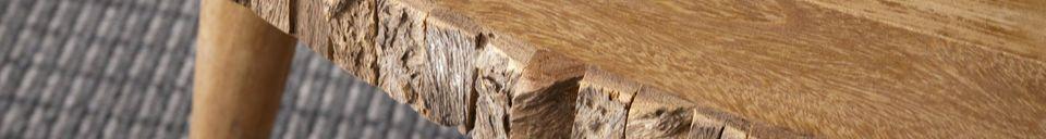 Benadrukte materialen Superlip salontafel