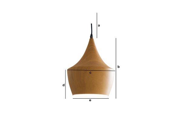 Productafmetingen Svéa hanglamp