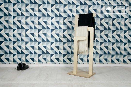 Sweden houten kledingrek