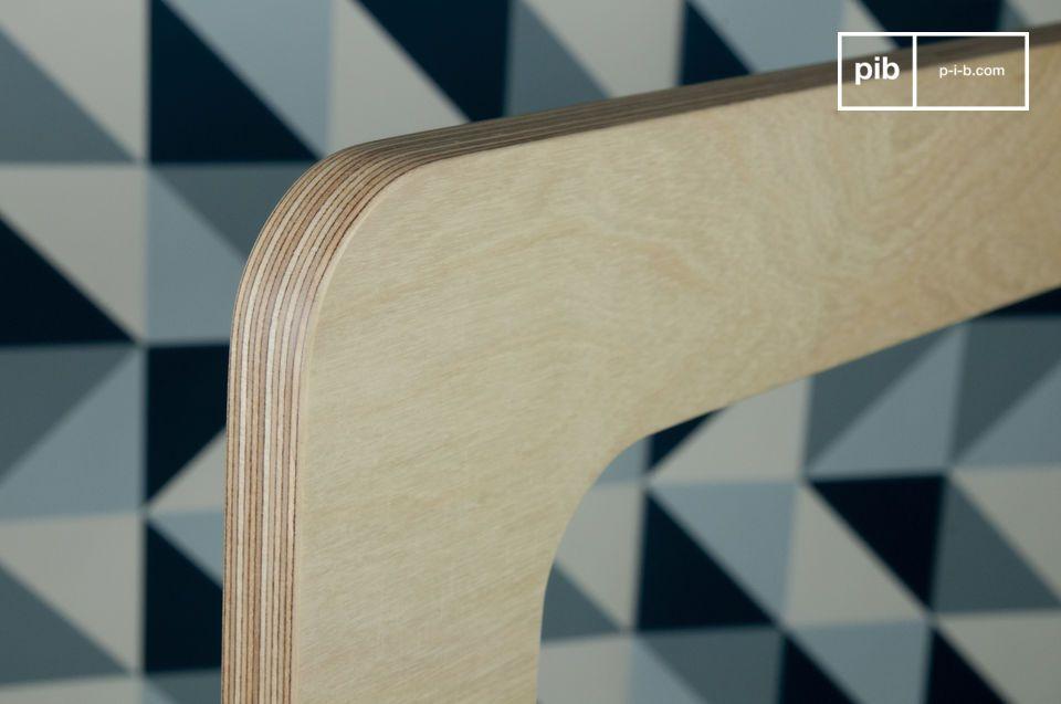 Gemaakt van meerdere lagen helder hout
