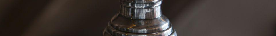 Benadrukte materialen Sweet Bell glazen hanglamp